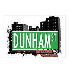 DUNHAM STREET, STATEN ISLAND, NYC Postcards (Packa