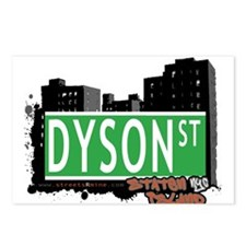 DYSON STREET, STATEN ISLAND, NYC Postcards (Packag