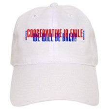 Conservative in Exile Baseball Cap