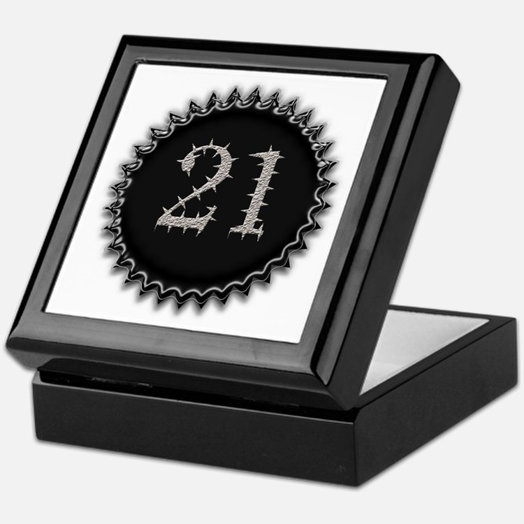 Cool 21 Keepsake Box
