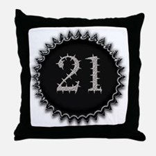 Cool 21 Throw Pillow