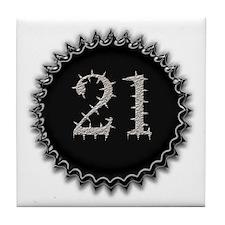 Cool 21 Tile Coaster
