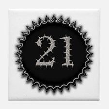 Cool 21 Tile Coaster