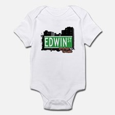 EDWIN STREET, STATEN ISLAND, NYC Infant Bodysuit