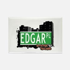 EDGAR PLACE, STATEN ISLAND, NYC Rectangle Magnet