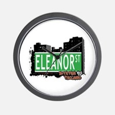 ELEANOR STREET, STATEN ISLAND, NYC Wall Clock