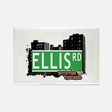 ELLIS ROAD, STATEN ISLAND, NYC Rectangle Magnet