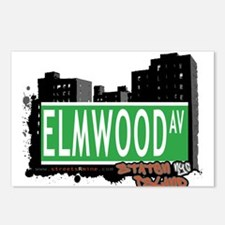 ELMWOOD AVENUE, STATEN ISLAND, NYC Postcards (Pack