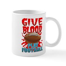 Give Blood Play Football Mug