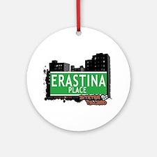 ERASTINA PLACE, STATEN ISLAND, NYC Ornament (Round