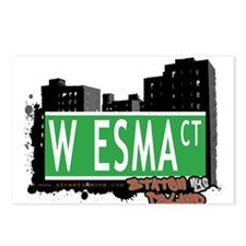 W ESMA COURT, STATEN ISLAND, NYC Postcards (Packag