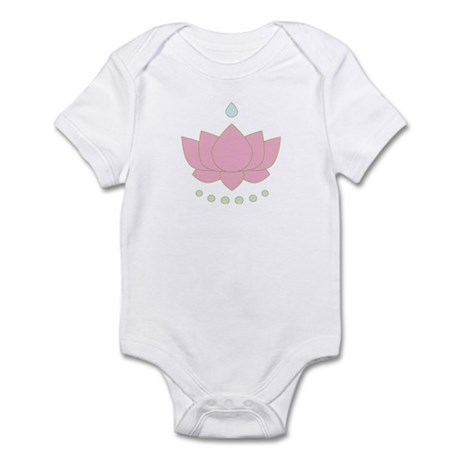 Lotus Flower Infant Creeper