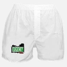 EUGENE STREET, STATEN ISLAND, NYC Boxer Shorts