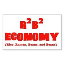 R2B2 Economy Rectangle Decal