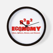R2B2 Economy Wall Clock