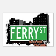 FERRY STREET, STATEN ISLAND, NYC Postcards (Packag
