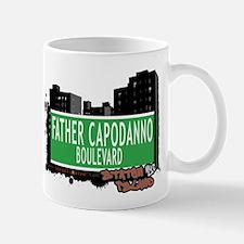 FATHER CAPODANNO BOULEVARD, STATEN ISLAND, NYC Mug