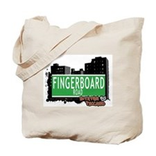 FINGERBOARD ROAD, STATEN ISLAND, NYC Tote Bag