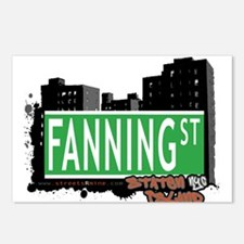 FANNING STREET, STATEN ISLAND, NYC Postcards (Pack
