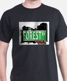 FOREST AVENUE, STATEN ISLAND, NYC T-Shirt