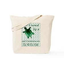 Mediterranean Tortoise Tote Bag