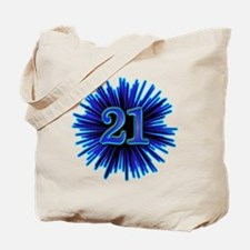 Cool 21st Birthday Tote Bag
