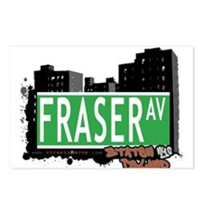FRASER AVENUE, STATEN ISLAND, NYC Postcards (Packa