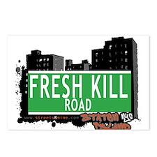 FRESH KILL ROAD, STATEN ISLAND, NYC Postcards (Pac