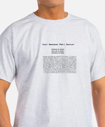 Just Another Perl Hacker -- T-Shirt