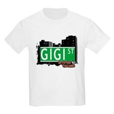 GIGI STREET, STATEN ISLAND, NYC T-Shirt