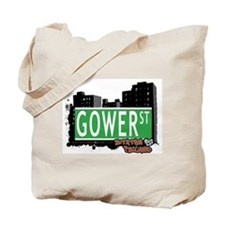 GOWER STREET, STATEN ISLAND, NYC Tote Bag