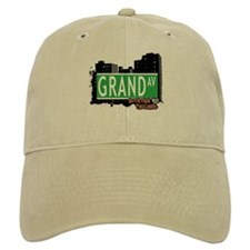 GRAND AVENUE, STATEN ISLAND, NYC Baseball Cap