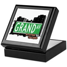 GRAND AVENUE, STATEN ISLAND, NYC Keepsake Box
