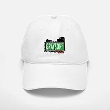 GRAYSON STREET, STATEN ISLAND, NYC Baseball Baseball Cap