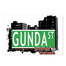 GUNDA STREET, STATEN ISLAND, NYC Postcards (Packag