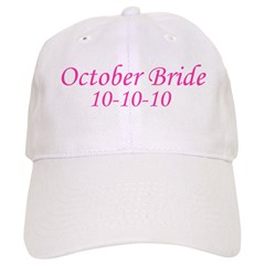 October Bride 10-10-10 Baseball Cap