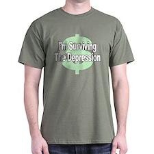 I'm Surviving the Depression T-Shirt