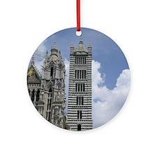 Unique Siena Ornament (Round)