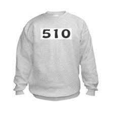510 Area Code Sweatshirt