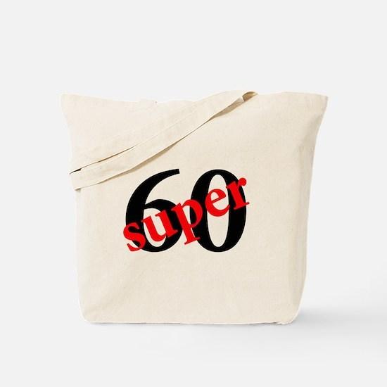 Super 60th Birthday Tote Bag