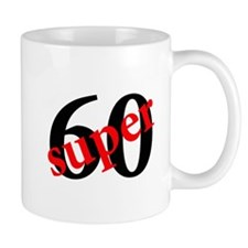 Super 60th Birthday Mug