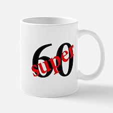 Super 60th Birthday Mug
