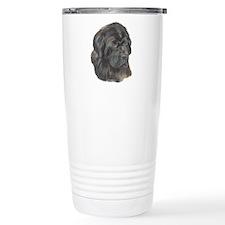 Newfie Portrait Travel Mug