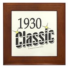 1930 Classic Framed Tile