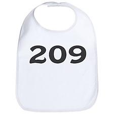 209 Area Code Bib