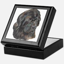 Newfie Portrait Keepsake Box