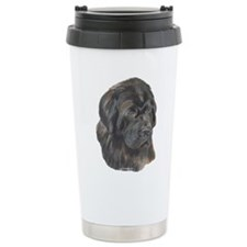 Newfie Portrait Travel Mug