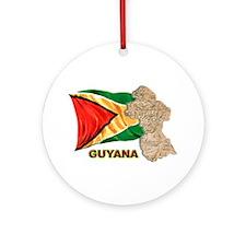 Guyana Ornament (Round)