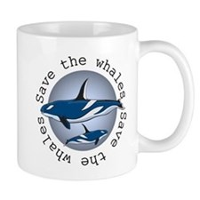 Save the whales v2 Mug