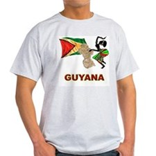 Guyana Ash Grey T-Shirt